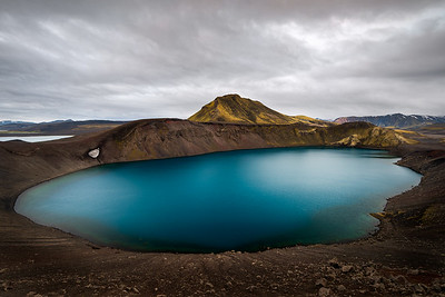 Bláhylur Crater, Iceland