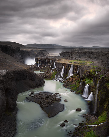 Sigöldugljúfur, Iceland