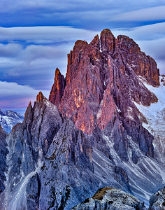 Dolomites from Lavaredo Col