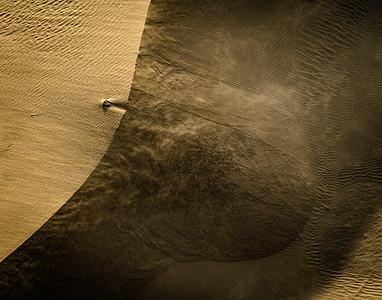 Wind Blown Golden Sand # 2