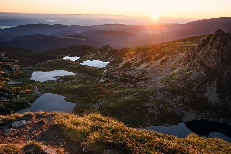 View over Rila National Park, Bulgaria