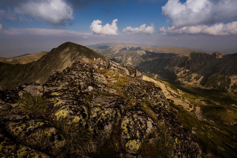 View from Musala Peak, Rila National Park, Bulgaria