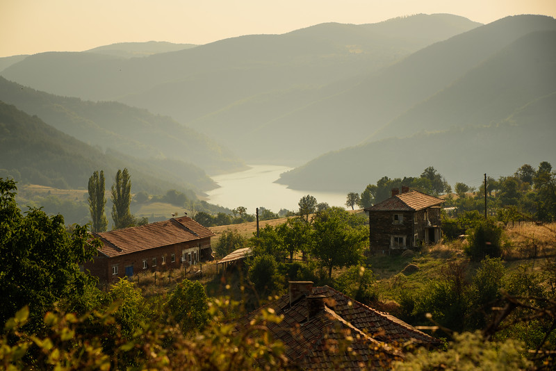 View over Bulgarian Country Side