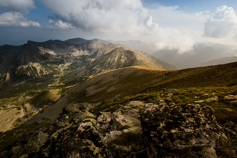 View from Musala Peak, Rila National Park, Bulgaria