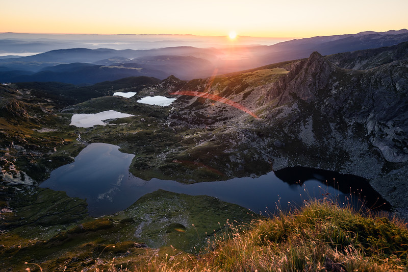 View over Rila National Park, Bulgaria