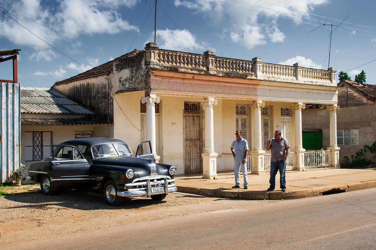 Типичное жилище в маленьких городах. В основном — это колониальные постройки, особенно не реставрированные после революции