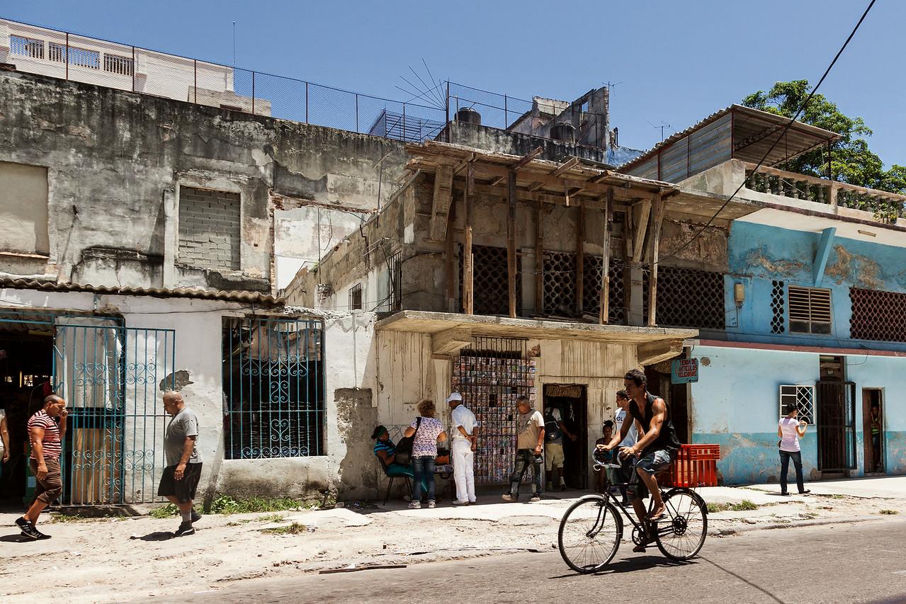 Окраины Гаваны представляют собой не очень уютное зрелище