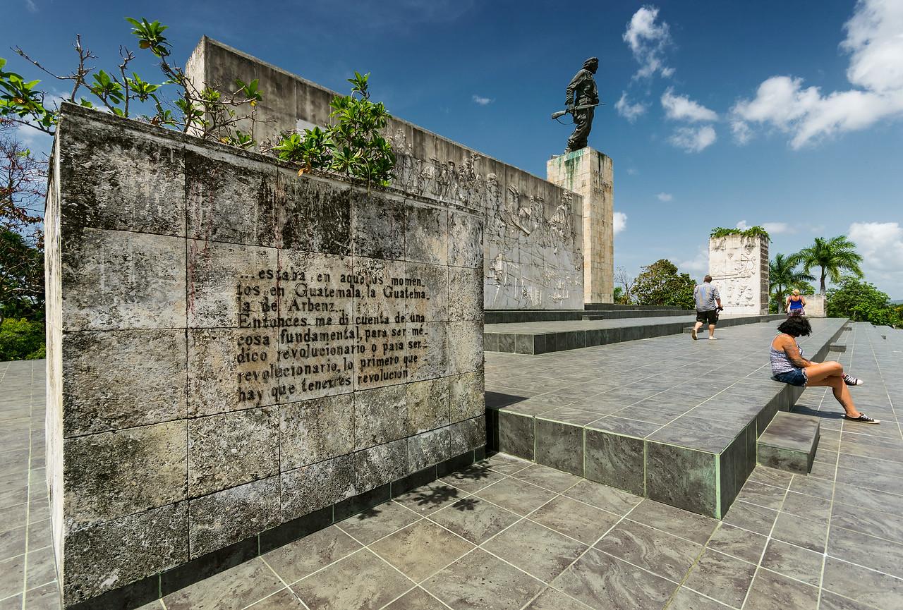 Мавзолей и монумент памяти Эрнесто (Че) Гевары в г. Санта Клара