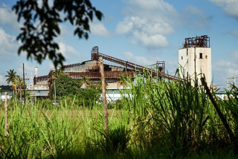 В таком виде пребывает большинство промышленных предприятий на Кубе