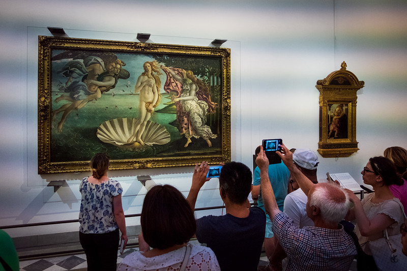 Firenze, Uffizi Gallery, Tuscany Region, Italy