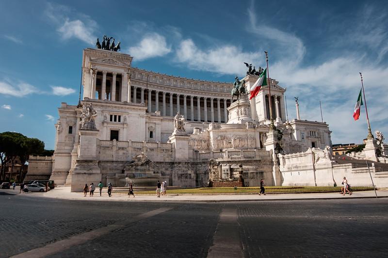 Rome, Piazza Venezia, Palazzo Valentini, Italy
