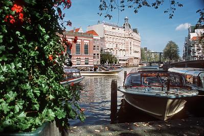 NH Doelen Hotel. Amsterdam, the Netherlands