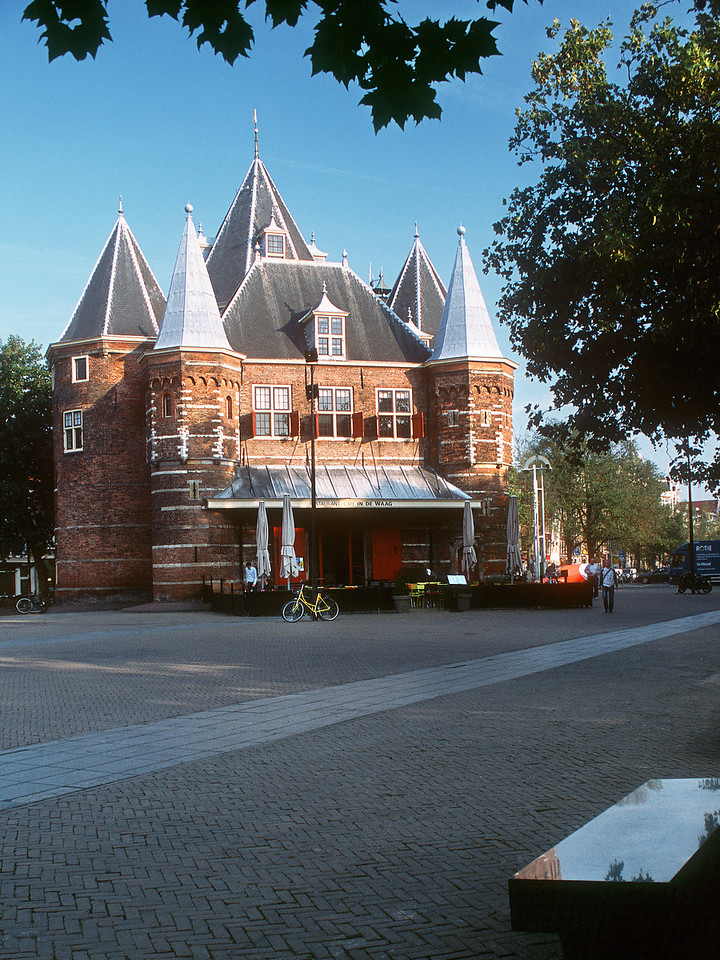 The Waag (Weigh house). Amsterdam, the Netherlands