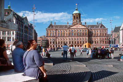 Koninklijk Paleis Amsterdam (Royal Palace). Amsterdam, the Netherlands