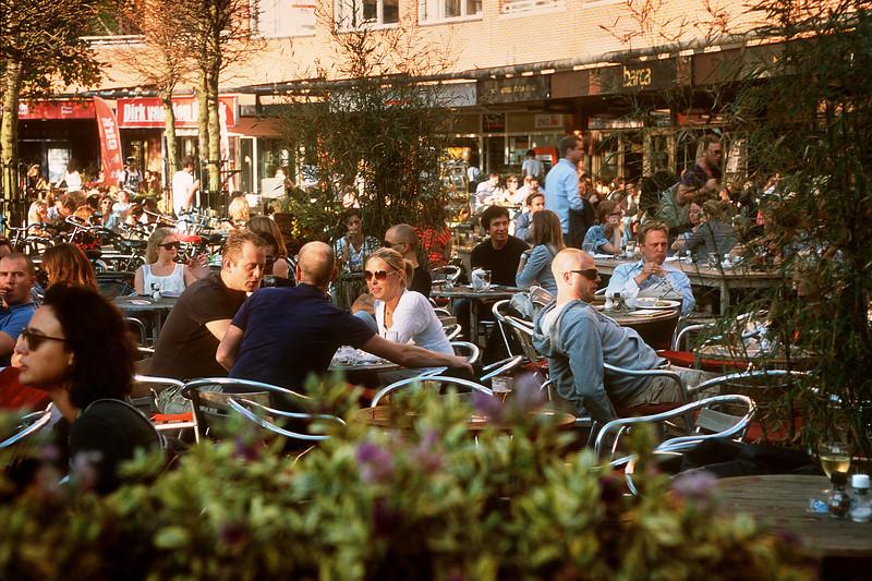 The Marie Heinekenplein. Amsterdam, the Netherlands