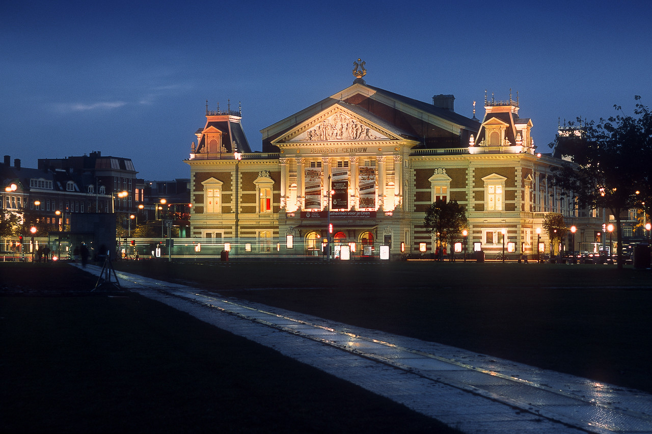 Concertgebouw (The Royal Concert Hall). Amsterdam, the Netherlands