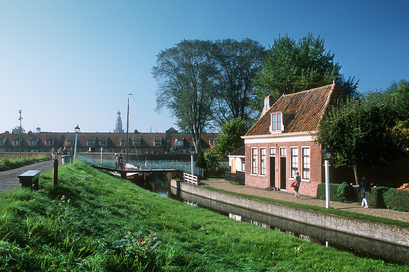Zuiderzee Museum, curator's house. Enkhuizen, The Netherlands
