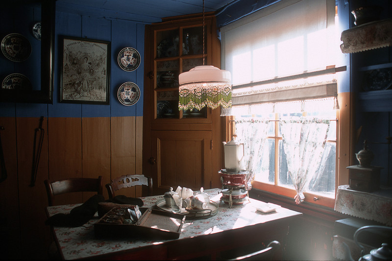 Zuiderzee Museum, living interior. Enkhuizen, The Netherlands