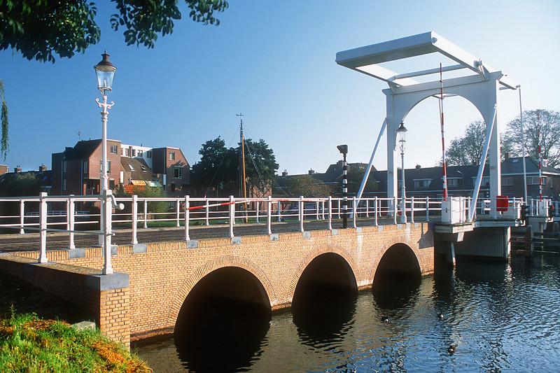 Bridge at Compagniestraat. Enkhuizen, The Netherlands