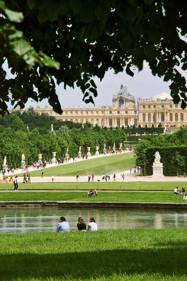 Versailles, Palace View