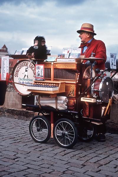 - Шарманщик на Карловом мосту<br /> - Organ-grinder in Charles Bridge
