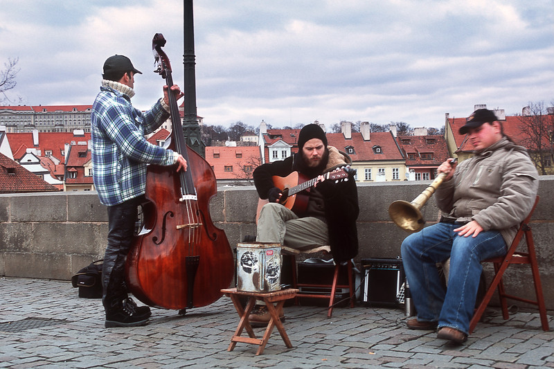 Музыканты на Карловом мосту / Musicians on Charles Bridge