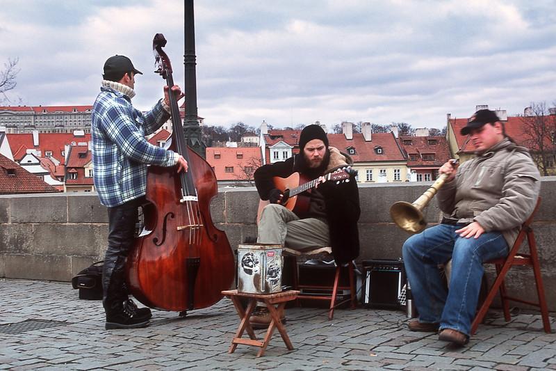 Музыканты на Карловом мосту / Musicians on Charles Bridge