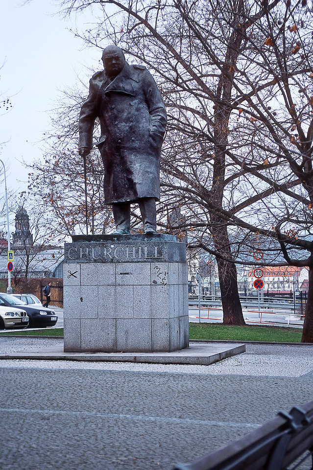 Памятник У. Черчиллю / W. Churchill Monument