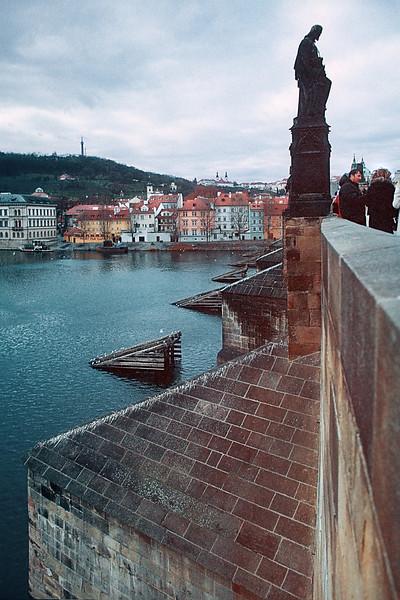 - Карлов мост, Прага, Чешская Республика<br /> - Karluv most (Charles Bridge), Prague, Chech Republic