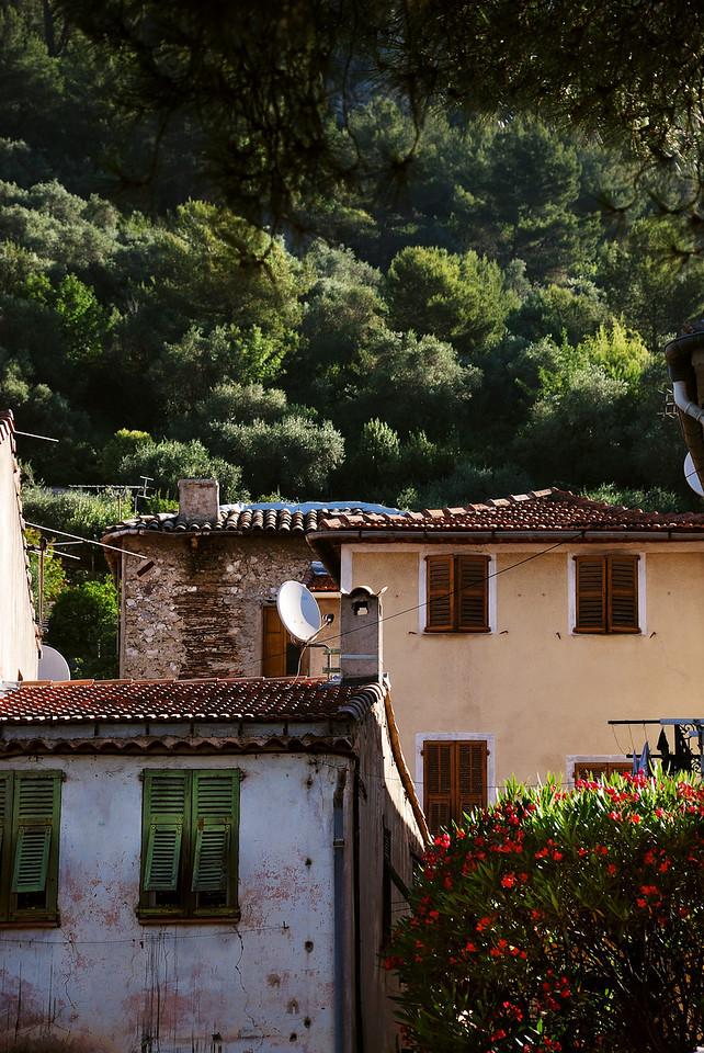 Tourrette-Levens Village, French Alpes