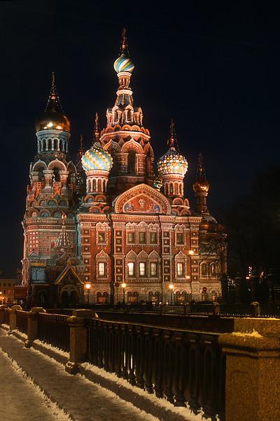 Санкт-Петербург. Собор Воскресения Христова на Крови