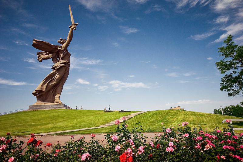 Волгоград, монумент «Родина-мать зовет!»
