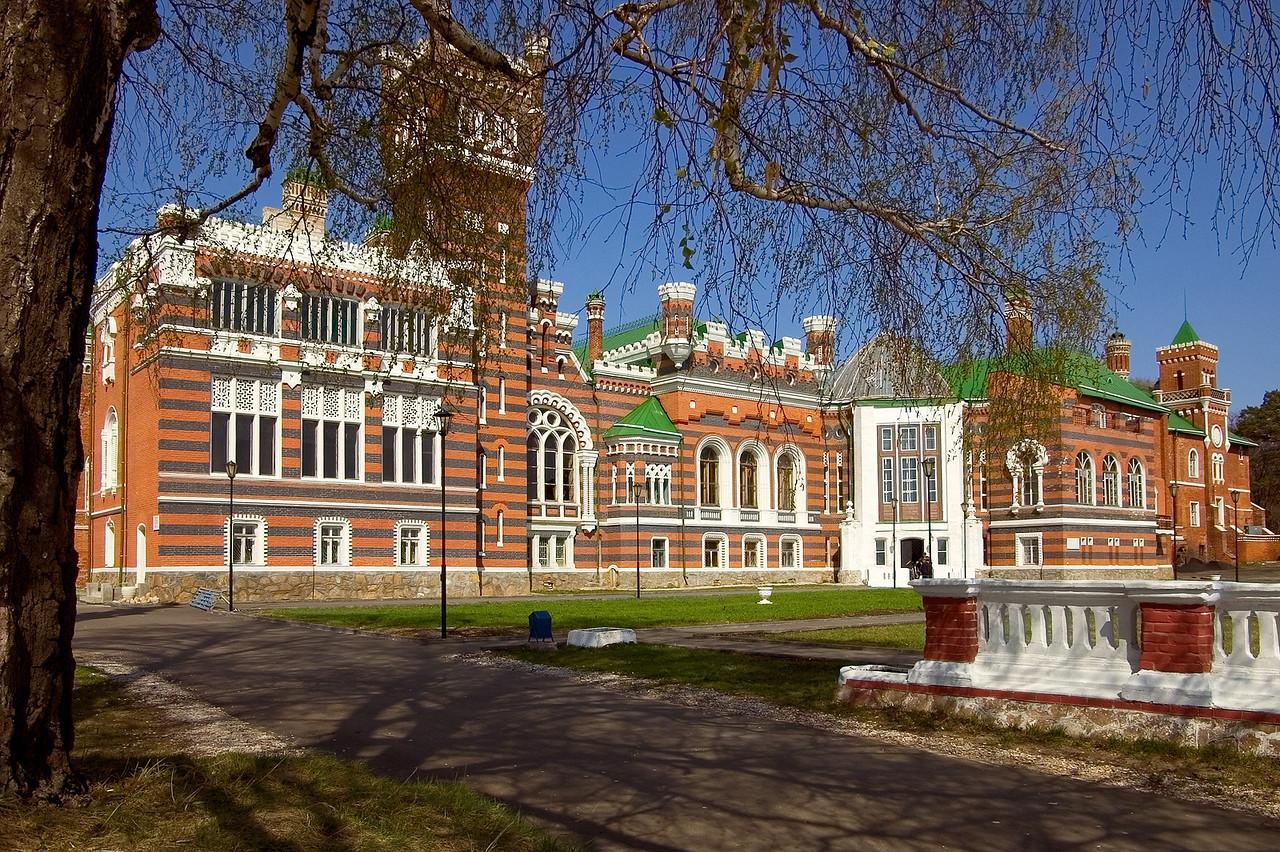 Респ. Марий-Эл. Замок Шереметьева в Юрино