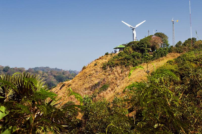 View at Windmill Hill. Phuket, Thailand