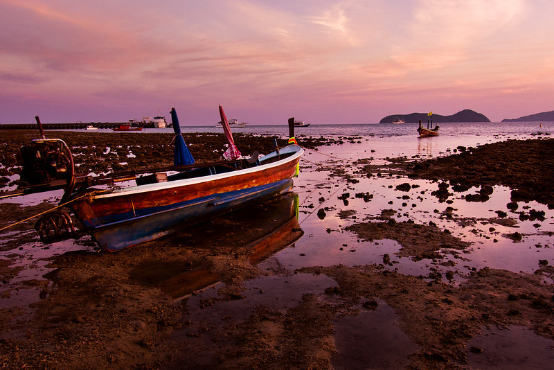 Low Tide at Cape Panwa, Phuket, Thailand