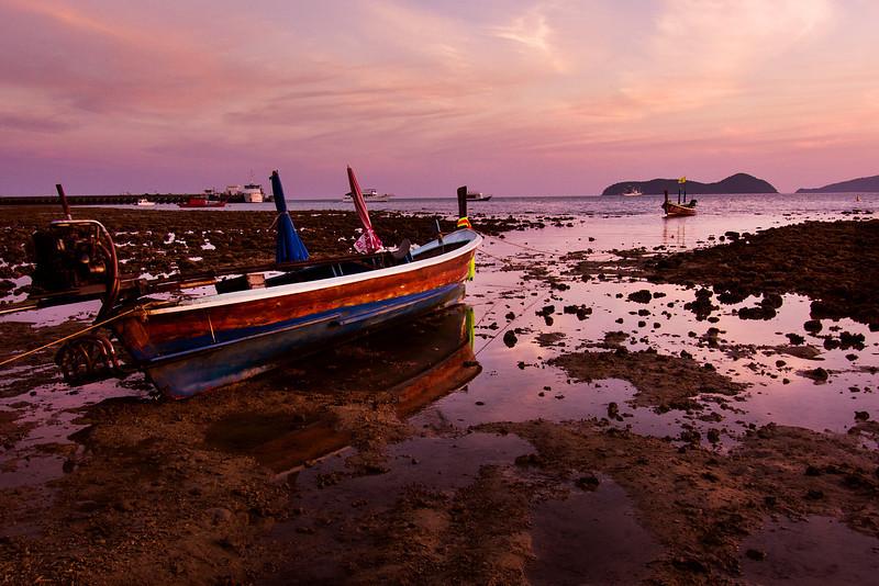 Low Tide at Cape Panwa, Phuket, Thailand