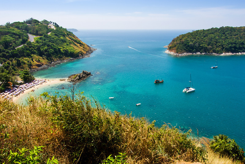 View over Yanui Beach, Phuket, Thailand