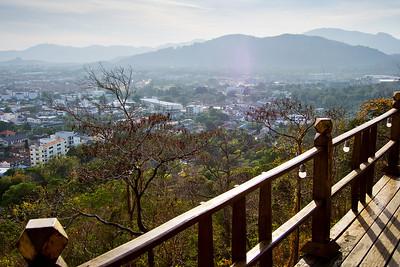 View over Phuket Town. Phuket, Thailand