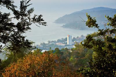 View over Phuket Island, Thailand