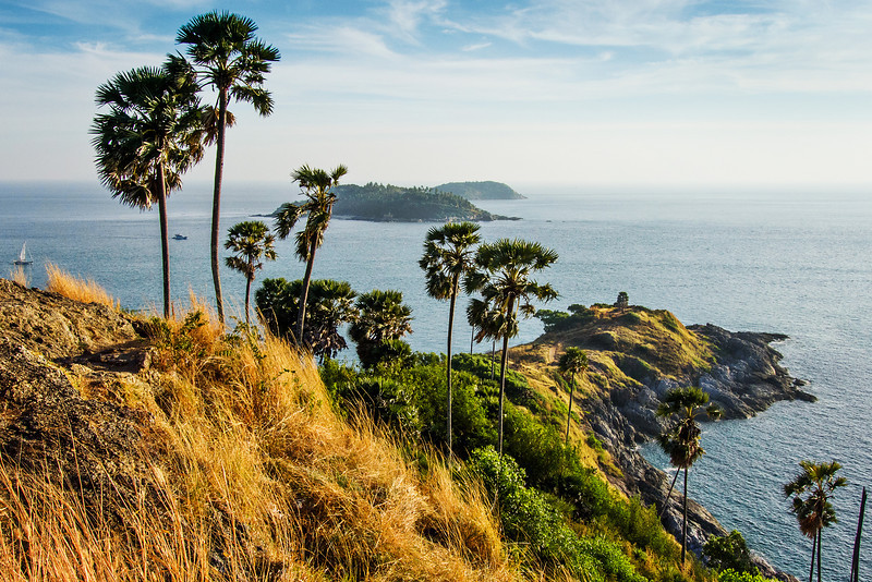 View from Promthep Cape. Phuket, Thailand