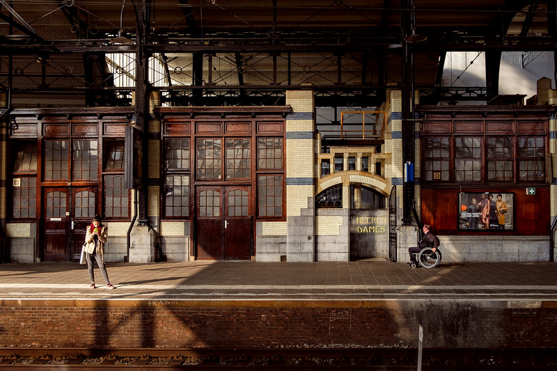 Amsterdam Centraal / Amsterdam / The Netherlands<br /> Центральный вокзал в Амтердаме, Нидерладны