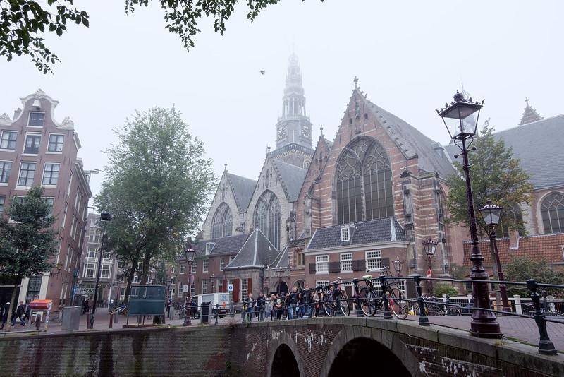 Oude Kerk, Amsterdam, The Netherlands<br /> Ауде керк (Старая церковь), Амтердам, Нидерладны