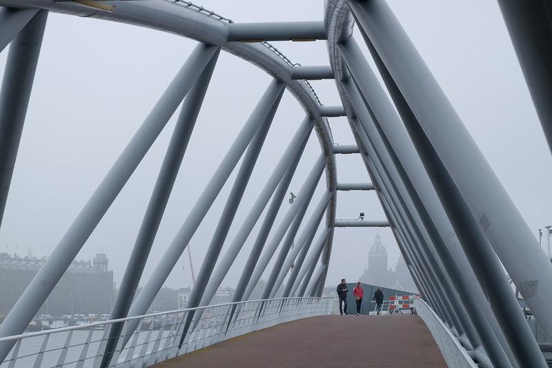 JJ van der Veldebrug, Amsterdam, The Netherlands<br /> Мост JJ van der Veldebrug, Амтердам, Нидерладны
