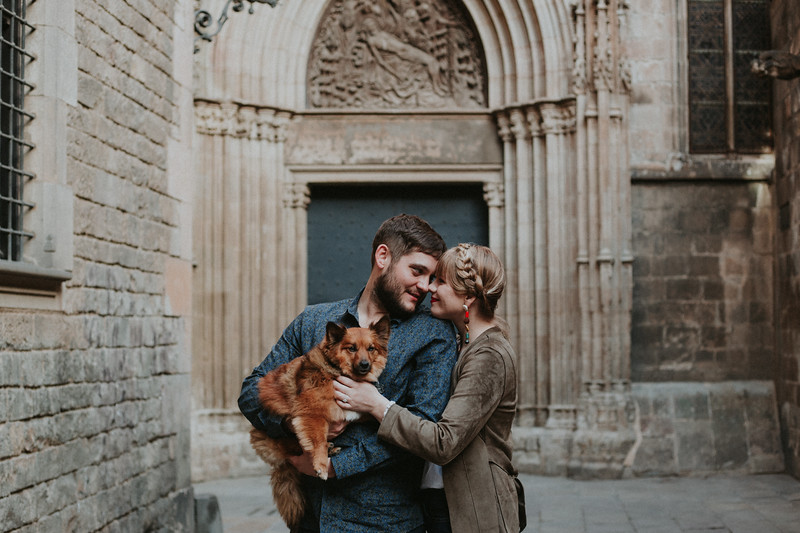 Engagement photos   Barcelona, Spain