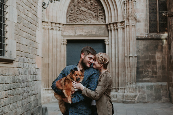 Engagement photos   Barcelona, Spain