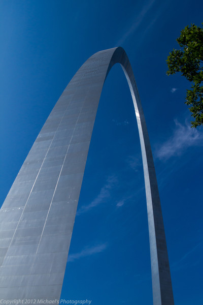 The St Louis Gateway Arch