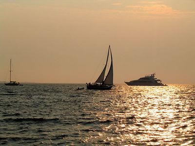 boats at sunset0875