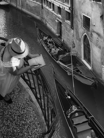 The Painter BW
