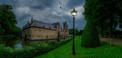 Crows In Medieval Light Kasteel Heeswijk