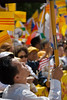 Demonstrating in front of the White House against human rights abuses by comunists in Vietnam; June 2007.